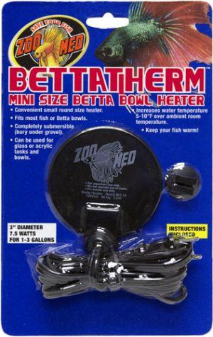 BETTATHERM Mini Size Betta Bowl Heater BH-10