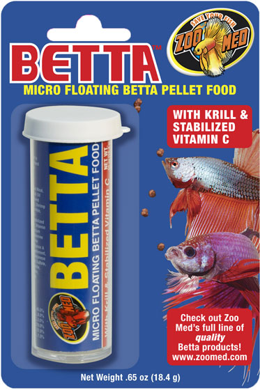 Micro Floating™ Betta Pellets BP-1S, BP-1