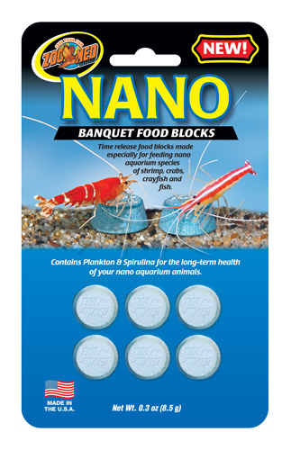 Nano Banquet® Food Blocks for Betta fish
