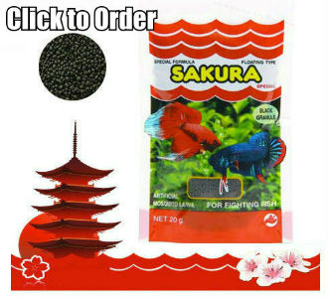 SAKURA Artificial Mosquito Larva for Bettas