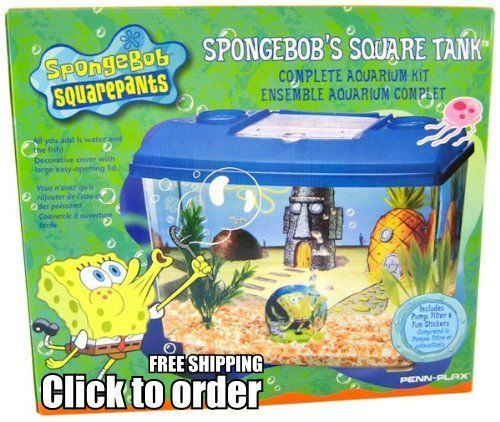 PLX1040 SpongeBob's Square Tank on Sale